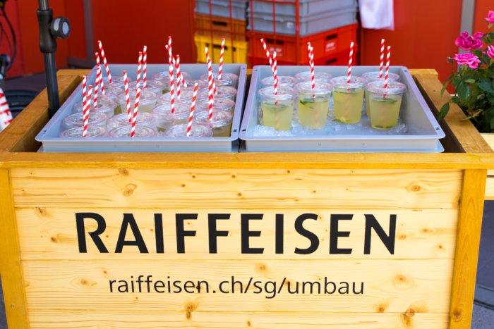 Raiffeisen Umbau St. Gallen - Sam Scherer Foto