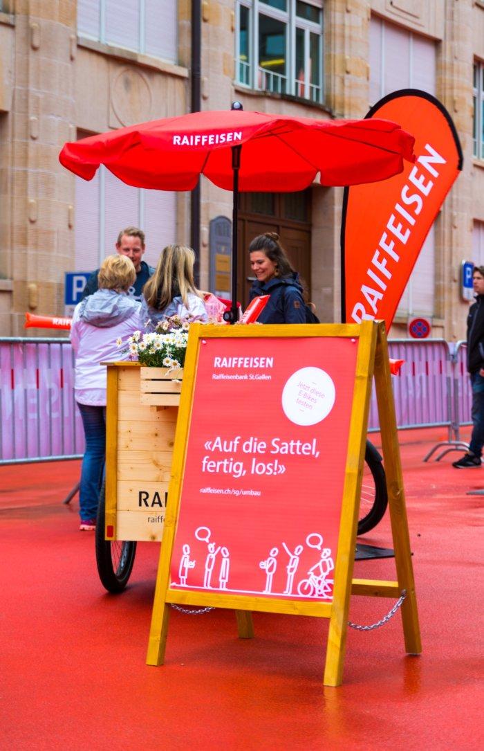 Raiffeisen St. Gallen Umbau Stand - Sam Scherer Foto