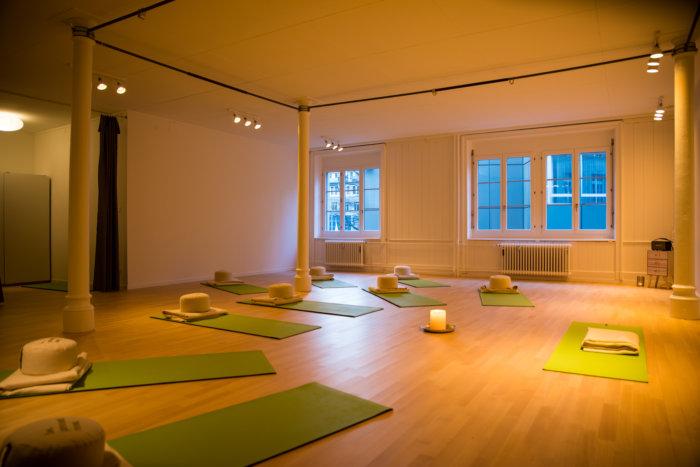 Yoga in der Altstadt neue Lokalitäten
